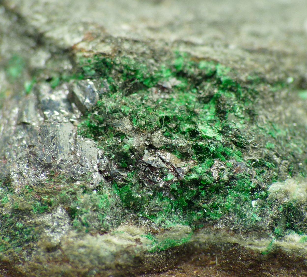 Duhamelite Dolomite Chalcocite & Cuprite