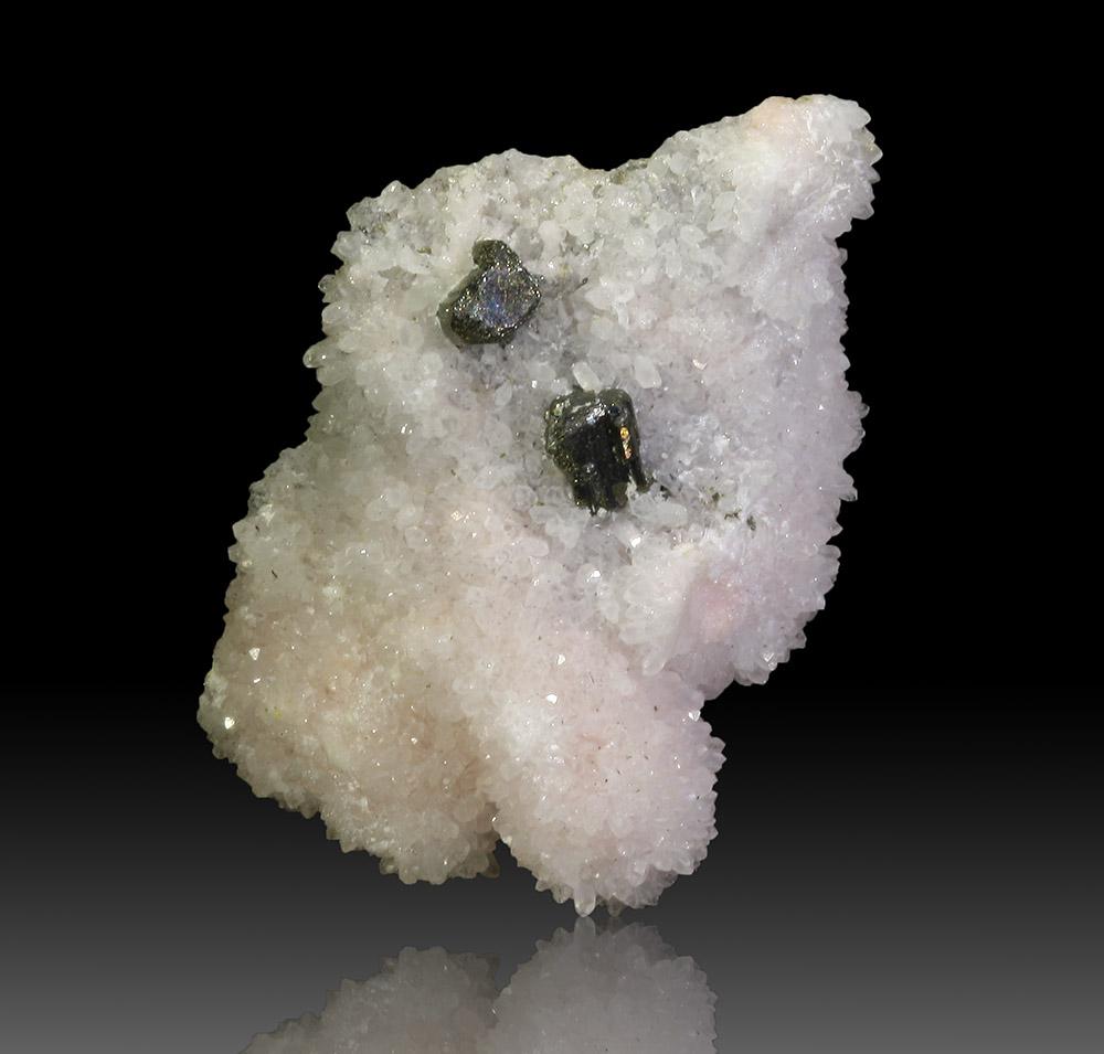 Bournonite Rhodochrosite & Quartz