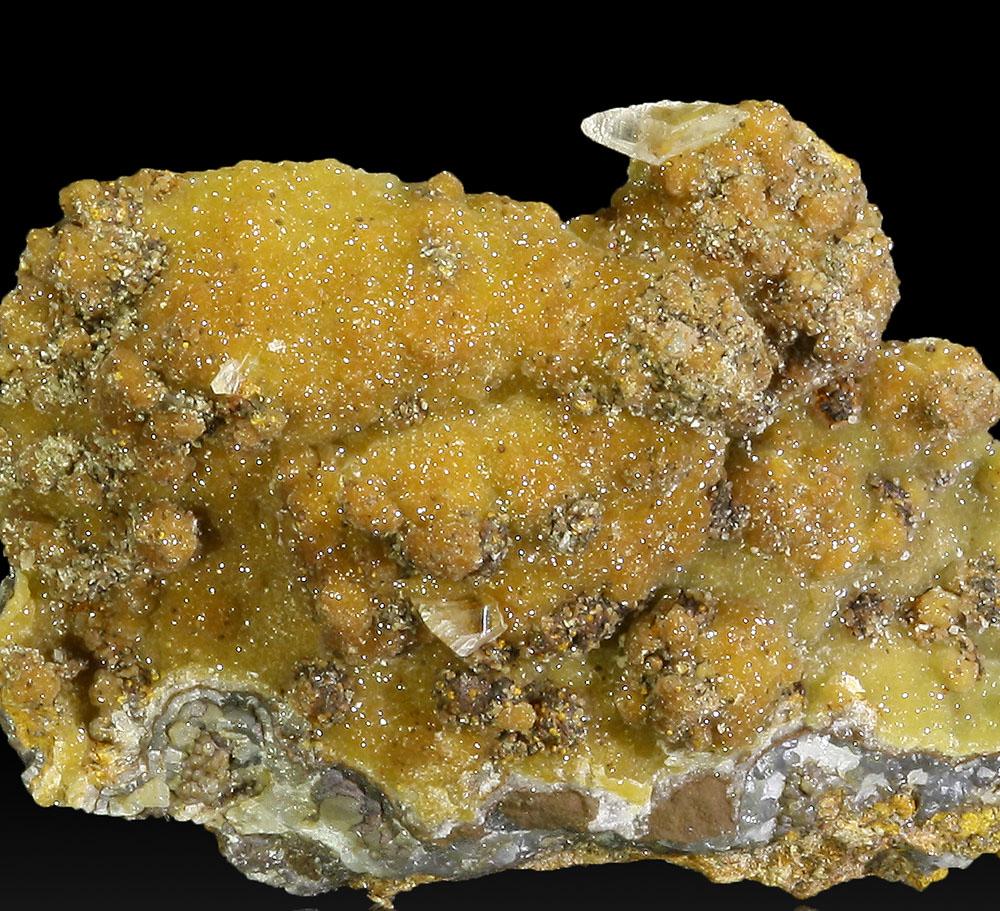 Smithsonite & Gypsum