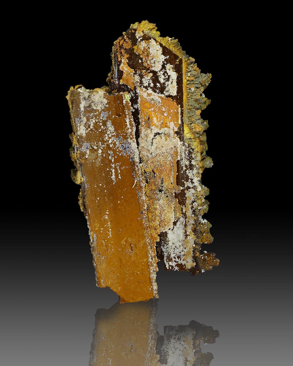 Goethite Psm Gypsum & Adamite