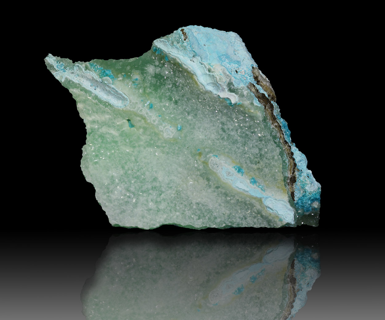 Smithsonite Aurichalcite & Chrysocolla