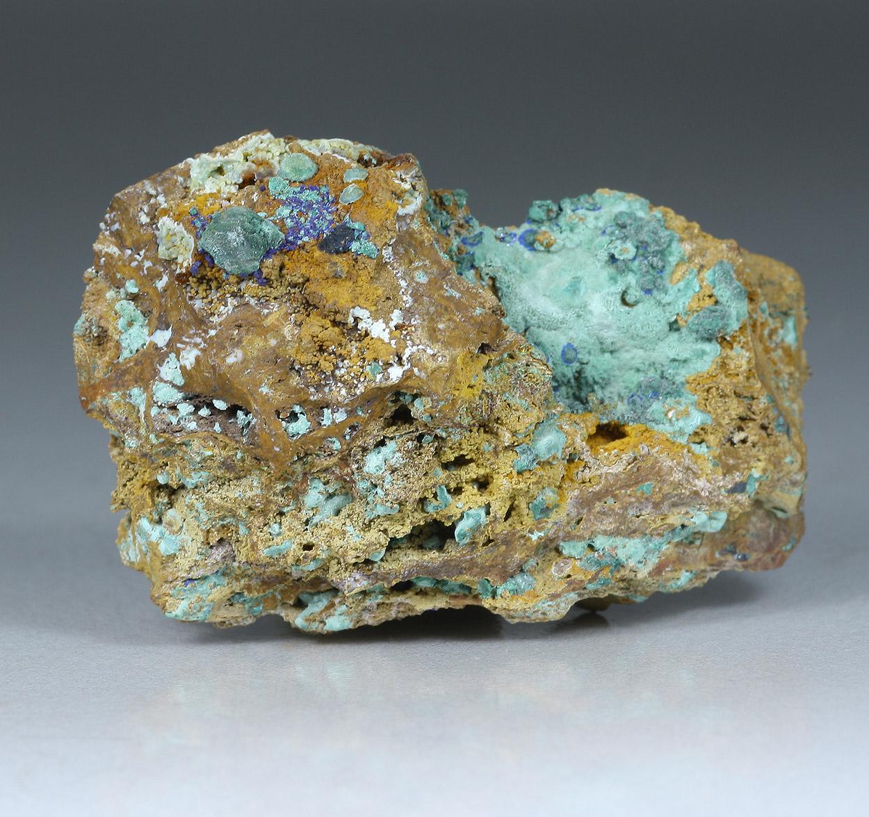 Cuprite Malachite & Azurite