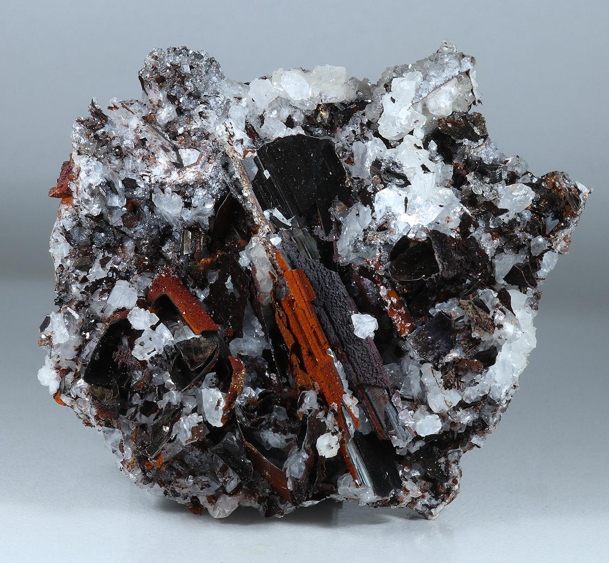 Goethite Psm Gypsum & Calcite