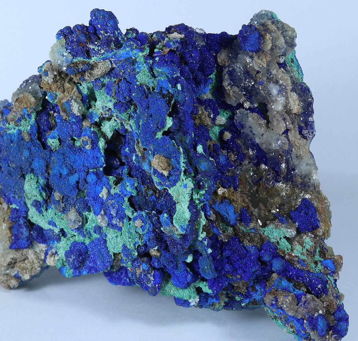 Azurite Malachite & Calcite