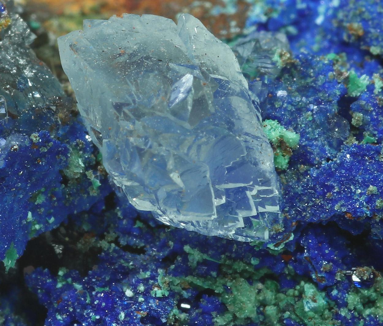 Cuprite Azurite Malachite & Aragonite