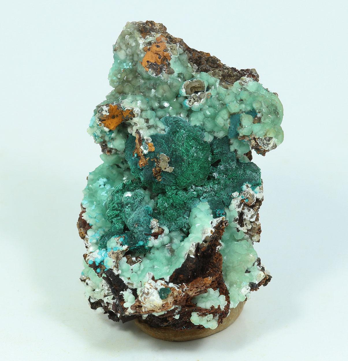 Malachite Psm Azurite Smithsonite & Rosasite