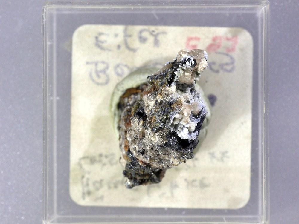 Cristobalite & Hematite