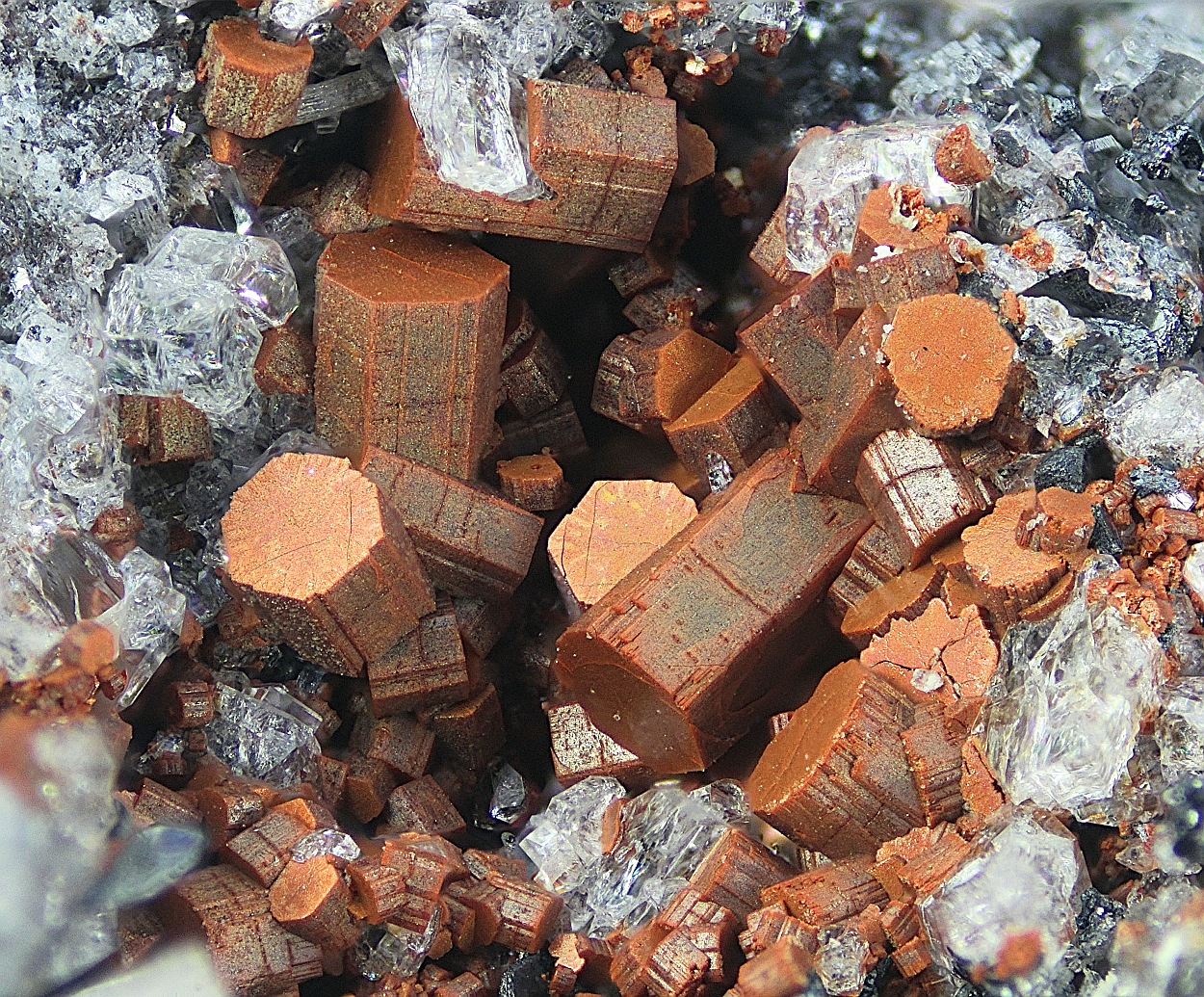 Cordierite Topaz Mullite & Hematite