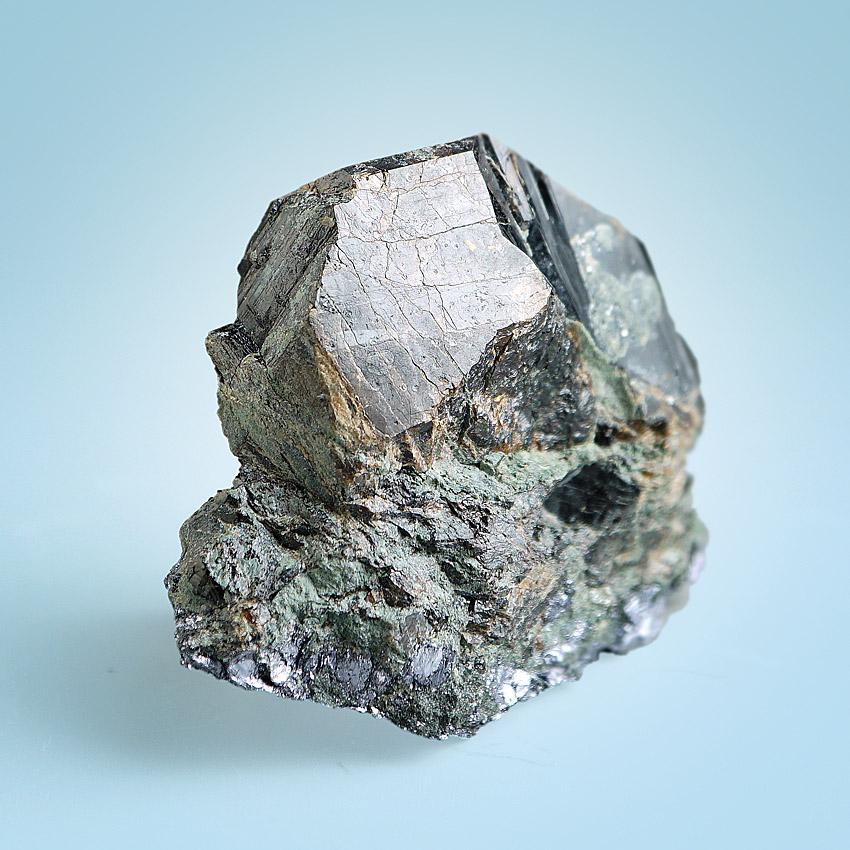 Cassiterite On Molybdenite