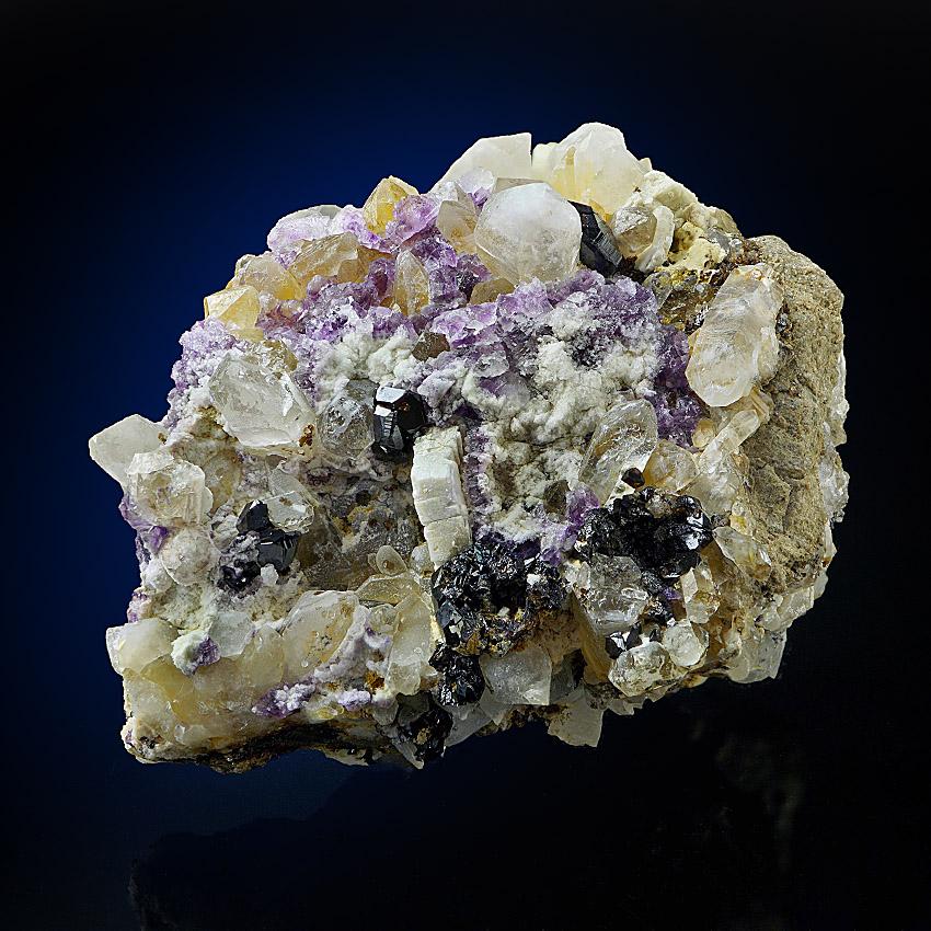 Apatite Cassiterite Fluorite & Rock Crystal
