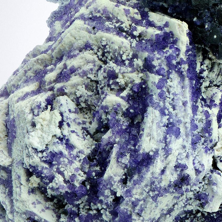 Fluorite Psm Muscovite On Schorl