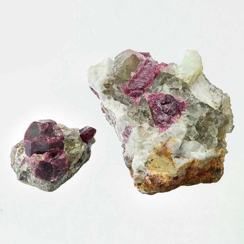Rubellite With Rhodizite