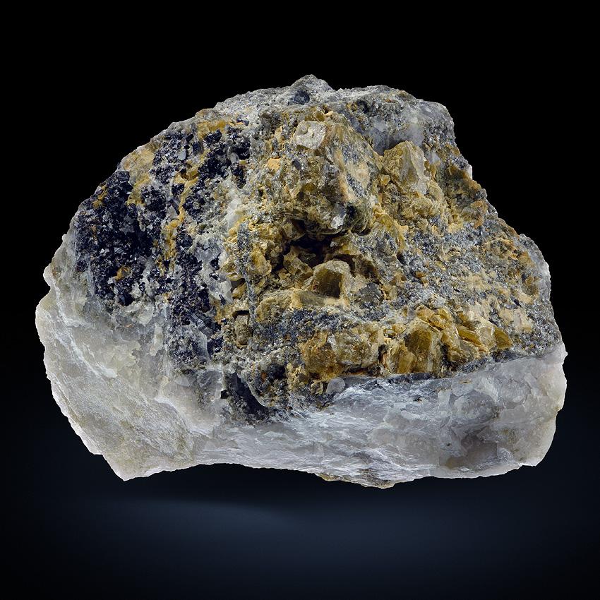 Childrenite With Cassiterite