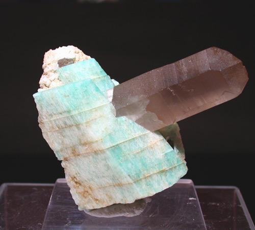 Amazonite & Smoky Quartz
