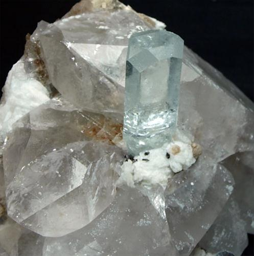 Aquamarine & Quartz
