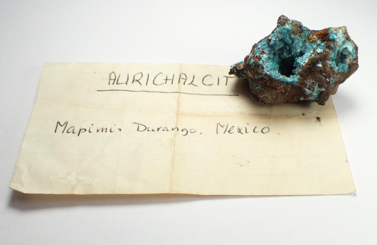 Aurichalcite