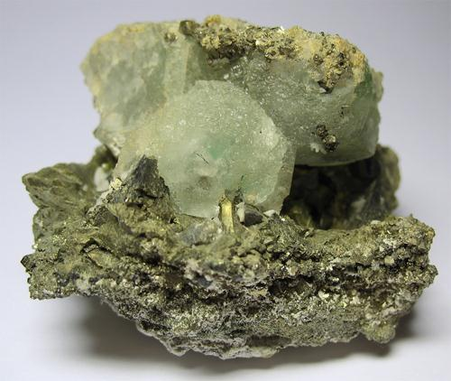 Fluorite & Tetrahedrite