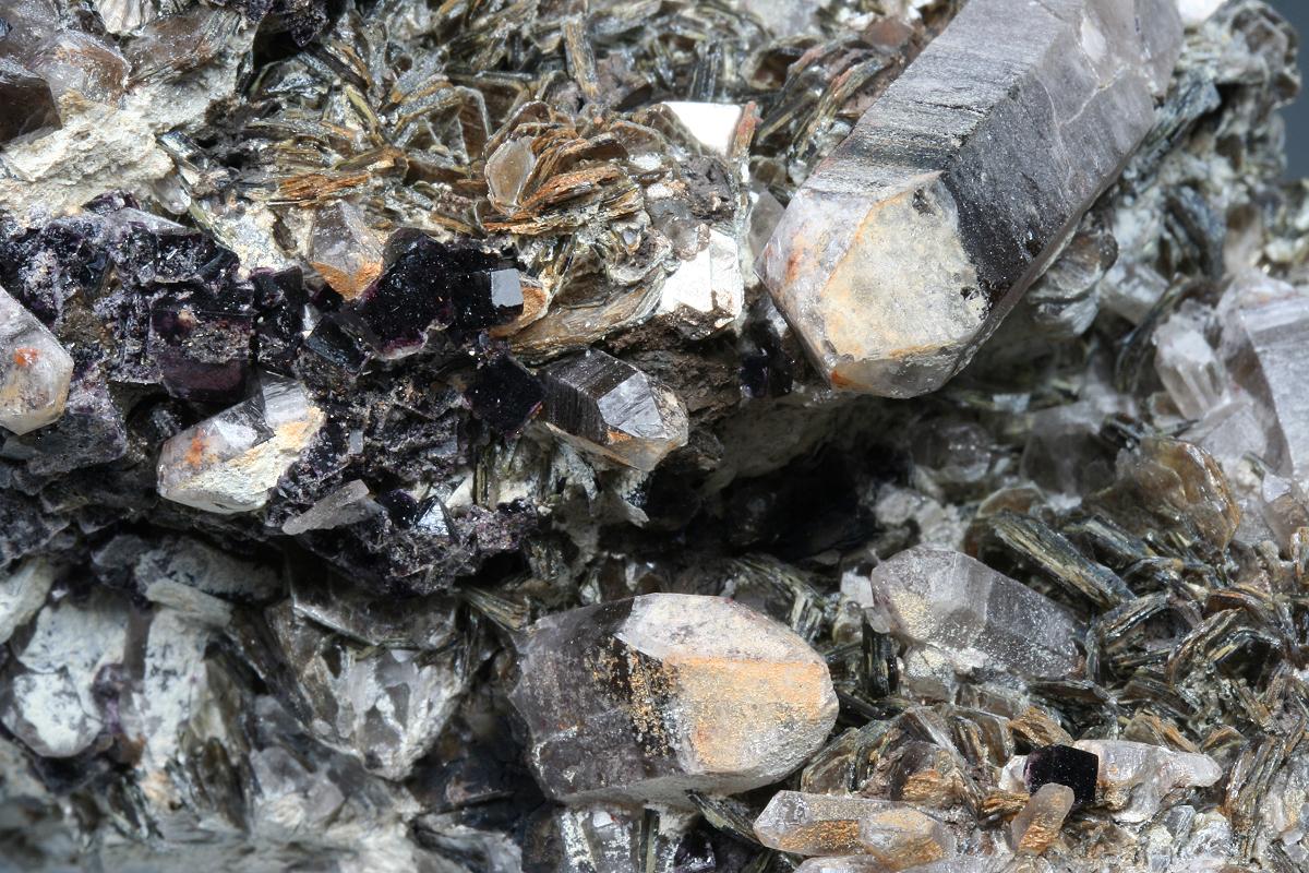 Zinnwaldite Fluorite & Quartz