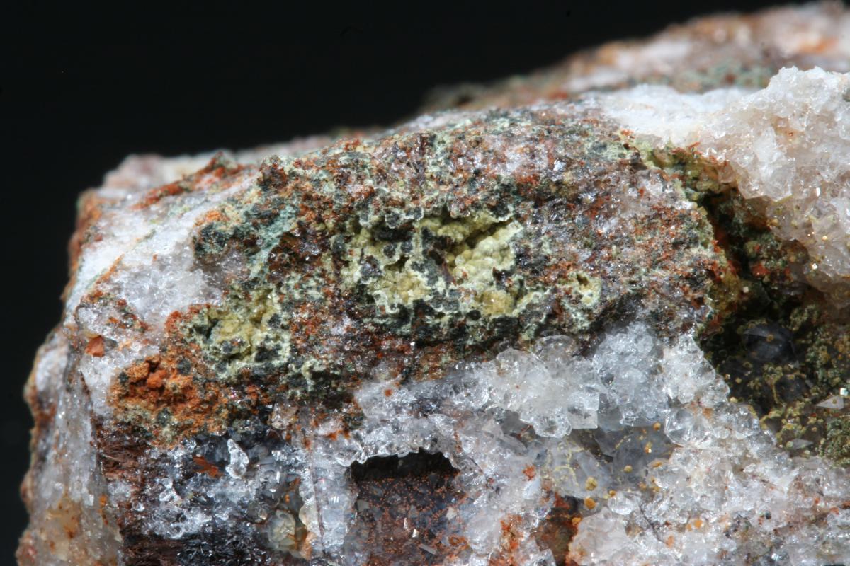 Kidwellite & Bariopharmacosiderite