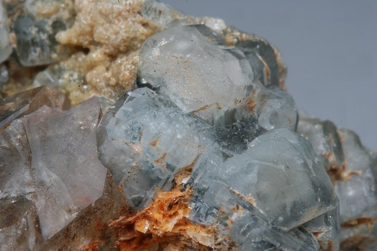 Fluorapatite & Smoky Quartz