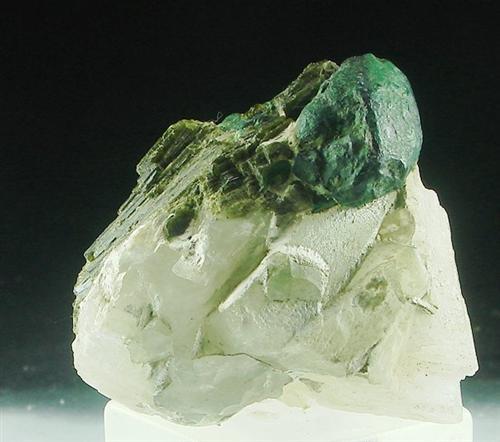 Chalcopyrite Epidote & Calcite