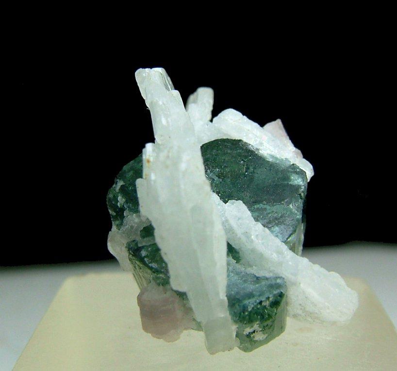 Elbaite With Cleavelandite & Lepidolite