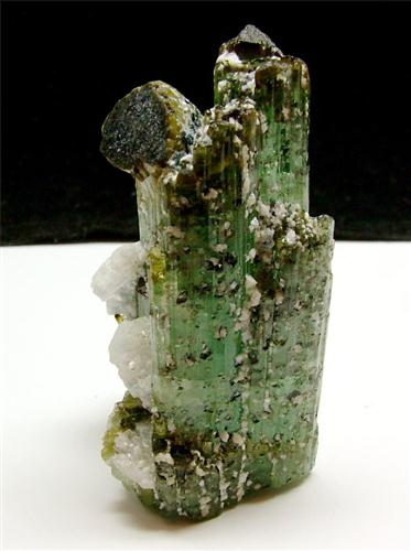 Elbaite With Magnetite & Magnetite Inclusions