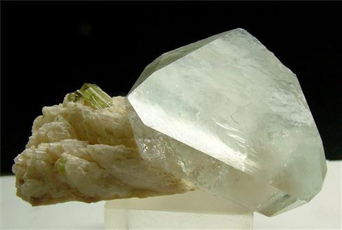 Topaz With Elbaite & Cleavelandite
