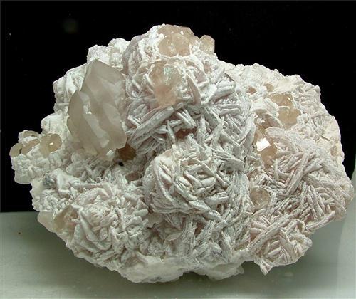 Topaz With Quartz & Lepidolite