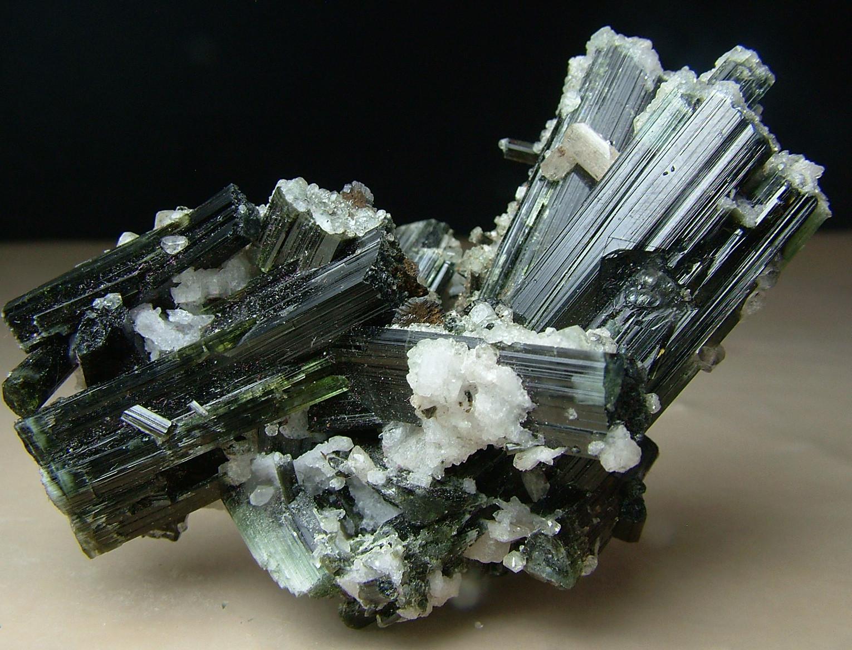 Väyrynenite With Hydroxylherderite Topaz & Tourmaline