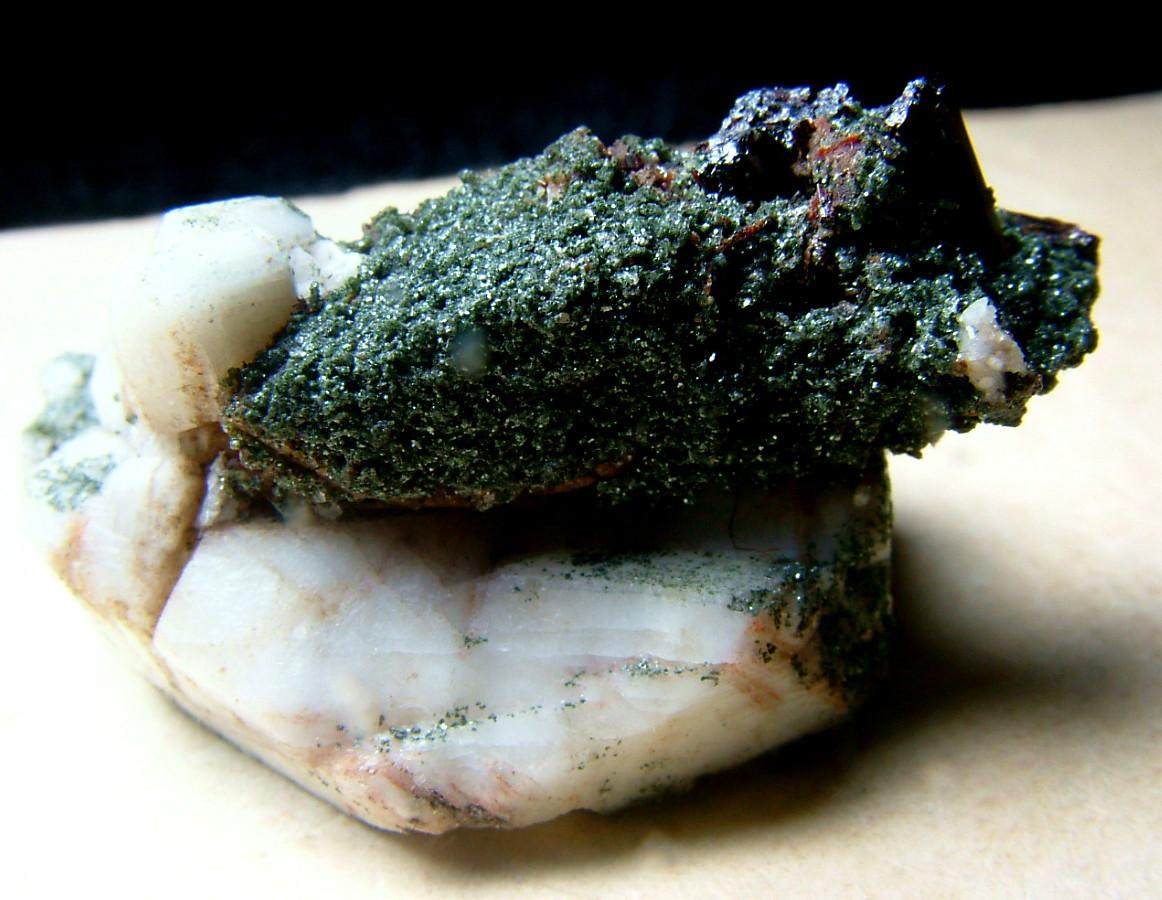 Chlorite Psm Titanite With Microcline & Rutile
