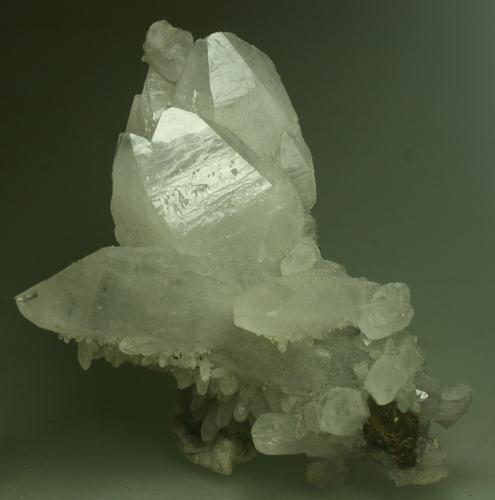 Quartz & Chalcopyrite