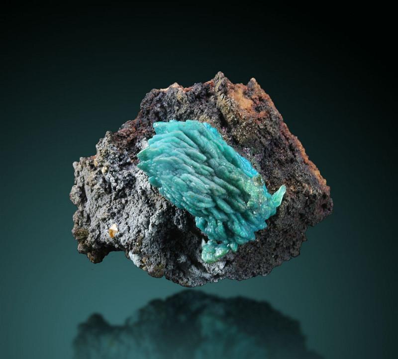 Chrysocolla Psm Malachite Psm Azurite With Wulfenite