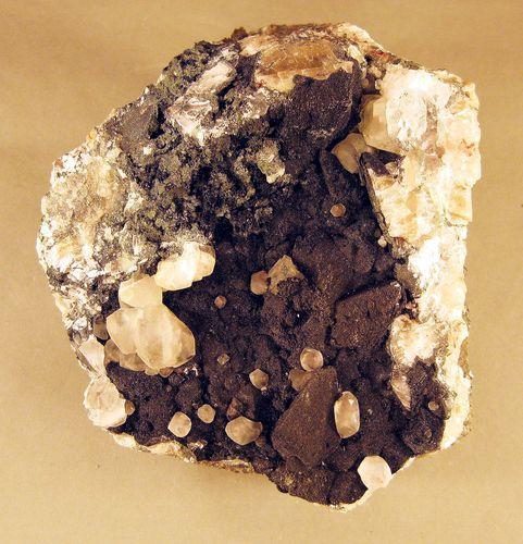 Julgoldite & Calcite