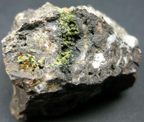 Corkite On Limonite