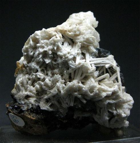 Cerussite On Goethite