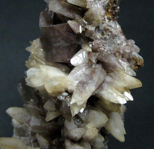 Fluorite With Calcite & Gypsum
