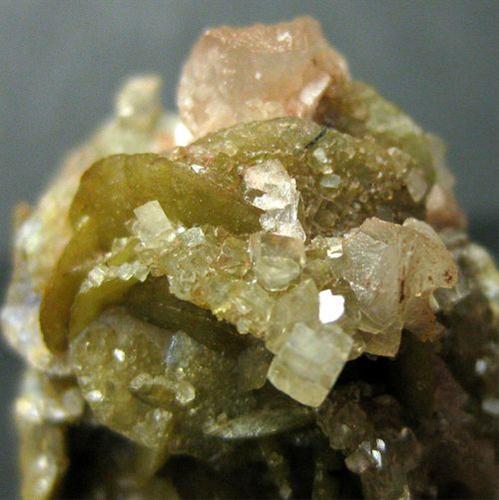 Siderite With Calcite & Dolomite