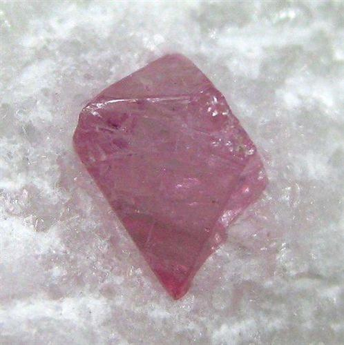 Spinel & Pargasite On Marble