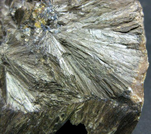 Hedenbergite With Galena
