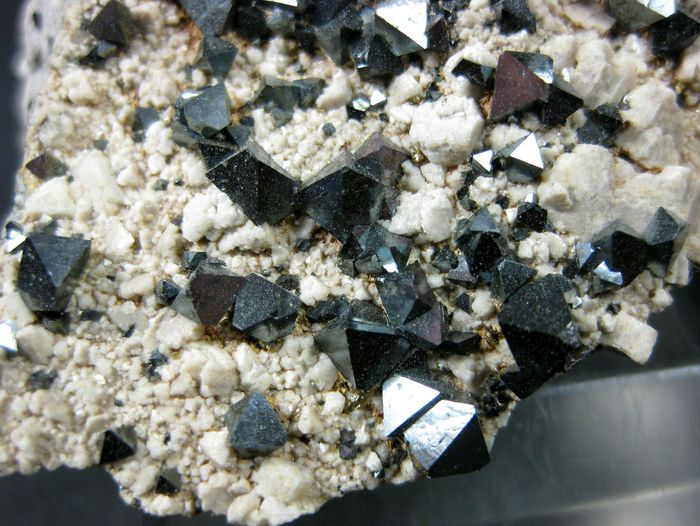 Magnetite On Feldspar Group