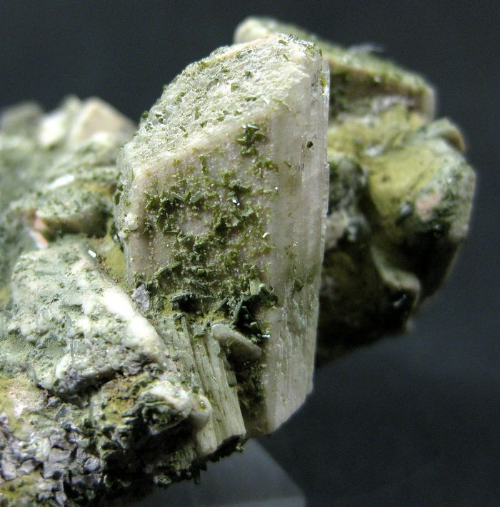 Microcline With Epidote