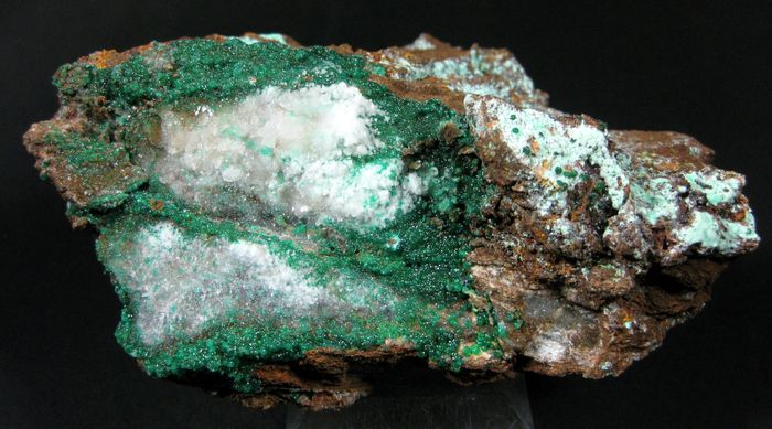 Natrojarosite With Agardite & Cuprian Adamite
