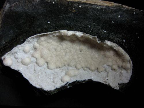 Natrolite On Phillipsite