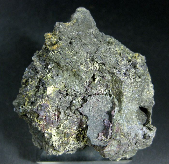 Proustite & Arsenolite On Native Arsenic