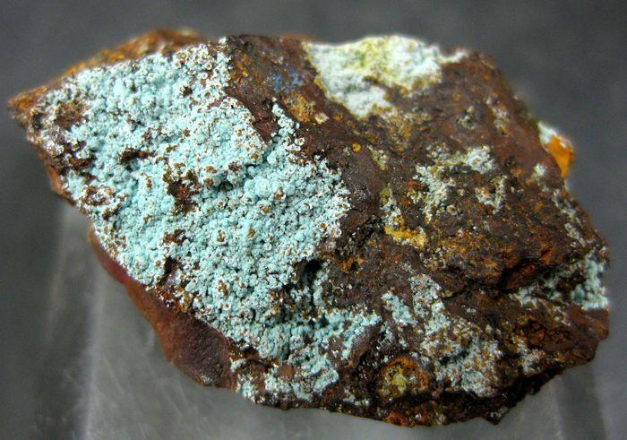 Natroalunite With Natrojarosite