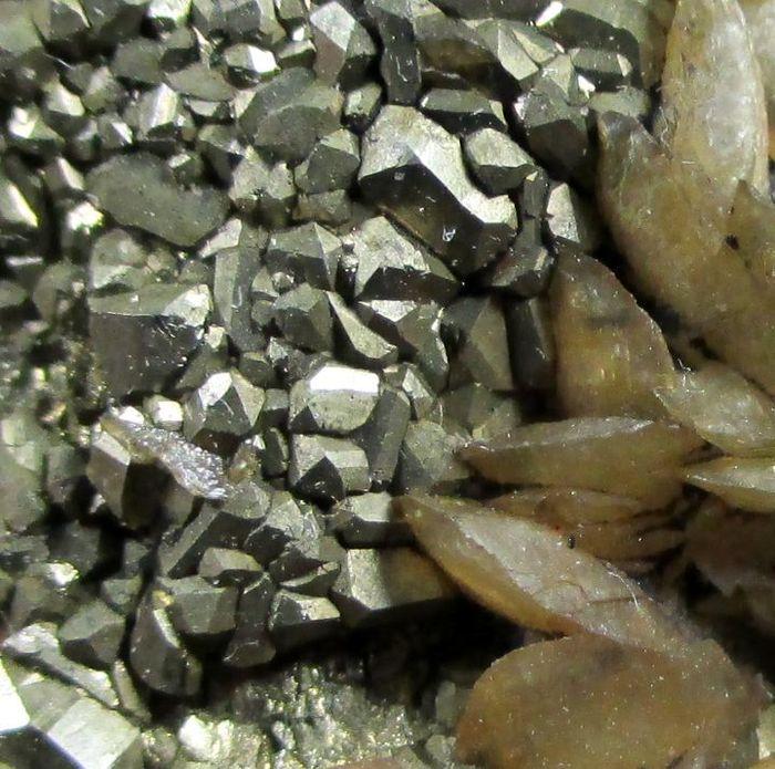 Siderite Pyrite & Schorl