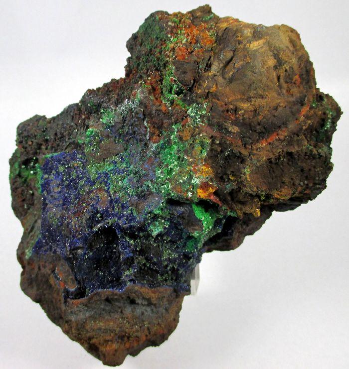 Olivenite Austinite Conichalcite Azurite & Chalcophanite