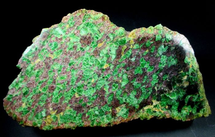 Pyrope Almandine & Chromian Diopside