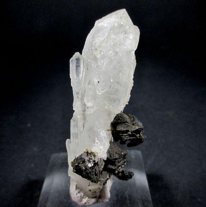 Skeletal Scepter Quartz & Chalcopyrite